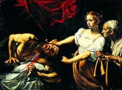 Caravaggio - Giuditta che taglia la testa a Oloferne