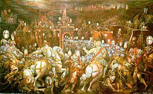 Omaggio a Vasari - Opera dell'artista Fortuna Comeo