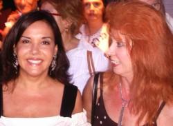 Patrizia Mirigliani e Anna Maria Guarnieri