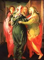 VISITAZIONE - Pontormo (Jacopo Carrucci)